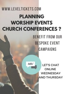 LevelUp Online Worship and Conference Events Chat