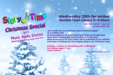 Free Story Time Christmas Special with Music Audio Stories