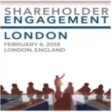 Shareholder Engagement and Communication