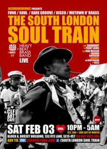 The South London Soul Train with JHC, Heavy Beat Brass Band (Live) + More