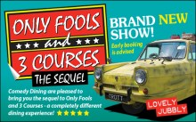 Only Fools and 3 Courses The Sequel Comedy Night with Dinner Docklands