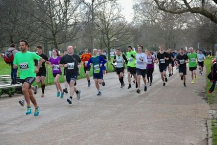 Royal Parks Winter 10k Series – Race 3 – Hyde Park