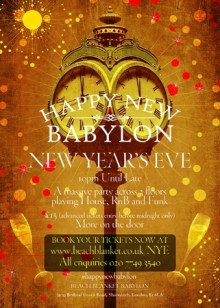 Happy New Babylon. New Year's Eve party