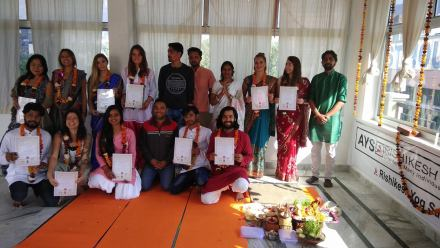300 Hour Yoga Teacher Training In India.