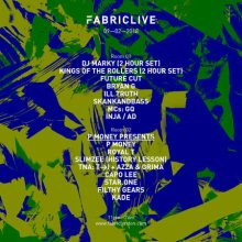 FABRICLIVE: DJ Marky, Kings of the Rollers & P Money Presents