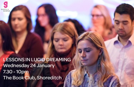 LESSONS IN LUCID DREAMING