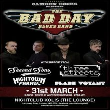 Camden Rocks presents The Bad Day Blues Band and more at The Lounge