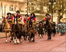 ANNUAL MARCH IN COMMEMORATION OF CHARLES I MARTYRED 30TH JANUARY 1649