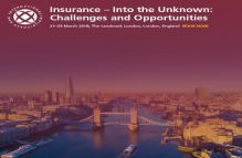 Insurance – Into the Unknown: Challenges And Opportunities London March 2018