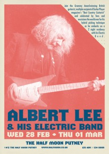 Albert Lee and his Electric Band @ The Half Moon Putney