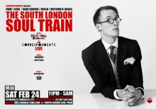 The South London Soul Train with The Correspondents Live + More in 3 room