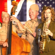 Hits From the Blitz, Dugdale, Enfield, London, Five Star Swing band, wartime