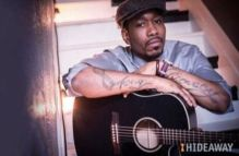US singer songwriter Anthony David performs 2 nights of soul at Hideaway