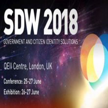 SDW 2018 – The Government Identity Solutions Event, 25-27 June, London