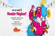 Monster Mayhem returns to The Mall Wood Green