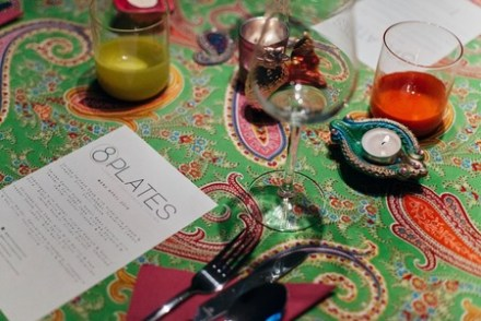 Vibrant 5 Course Indian and Middle Eastern Supper Club