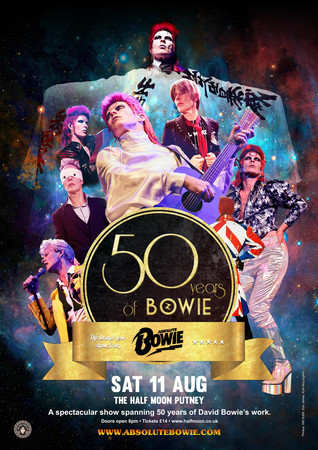 Absolute Bowie: 50 Years Of Bowie – Live at The Half Moon Putney, London