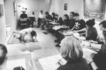 New spaces available for the original Drink & Draw life drawing!