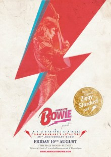 Absolute Bowie: 45th Anniversary of Aladdin Sane Live at Half Moon Putney
