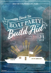 Black Tie Boat Party for BuildAid