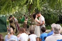 Connaught Village hosts 'Shakespeare In The Squares'