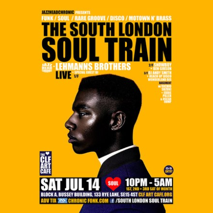 The South London Soul Train with The Lehmanns Brothers (Live) + More