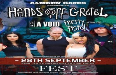 Camden Rocks presents Hands Off Gretel and more at Fest