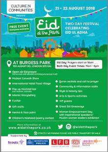 Eid At The Park – FREE 2 day Eid festival