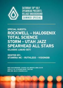 Spearhead Presents: Summer Special w/ Rockwell, Halogenix, Total Science