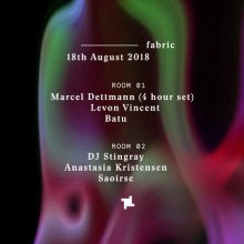 fabric: Marcel Dettmann, DJ Stringray, Levon Vincent & more