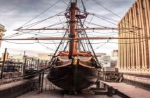 Rum Tasting on The Golden Hinde