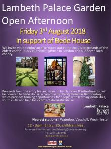 Lambeth Palace Garden Open Afternoon