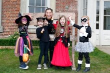 Explore the Haunted Hall,Forty Hall,Enfield,London,children,kids,halloween