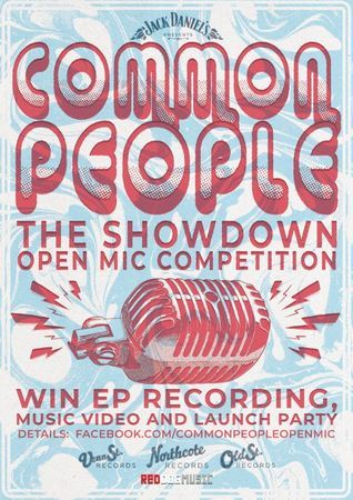 Common People: The Showdown (Open Mic Competition) – APPLICATIONS