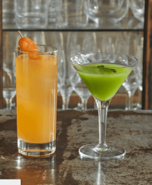 HIX and Tanqueray Gin Release Two Limited Edition, Ultra-Modern Cocktails