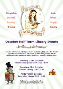 Storytime with Anna-Christina at Brompton Library!