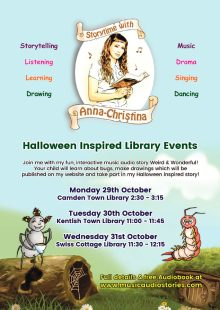 Storytime with Anna-Christina at Camden Town Library!