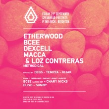 Spearhead Presents at The Arch, Brighton – Etherwood, BCee, Dexcell