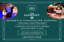 The Glenlivet Whisky and Chocolate Tasting – Leyton