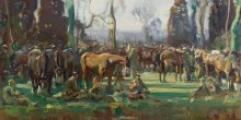Curator tour: Alfred Munnings