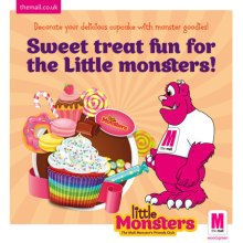 February Half-Term Monster Fun at The Mall, Wood Green!