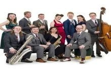 Sunday Lunch with Down For The Count Swing orchestra at Hideaway Jazz Club