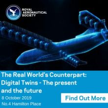 The Real World's Counterpart: Digital Twins RAeS in London, 8 October 2019