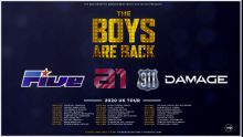 MJR present THE BOYS ARE BACK TOUR