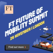 Financial Times Future of Mobility Summit 2019