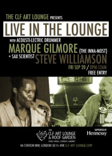 Steve Williamson x Marque Gilmore – Live in the Lounge