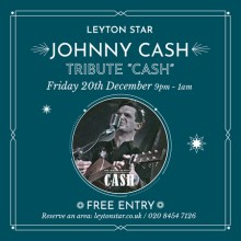 CASH – Johnny Cash Tribute at The Leyton Star