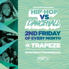 Hip-Hop vs Dancehall @ Trapeze Basement – Fri 12th June