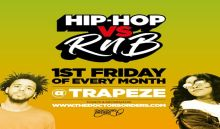 Hip-Hop vs RnB @ Trapeze Basement – Fri 7th August
