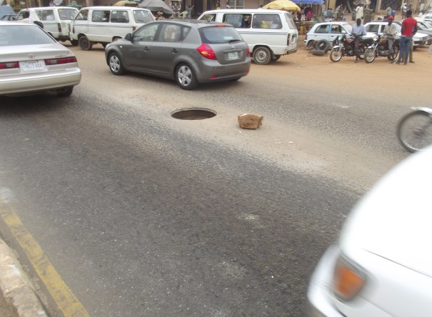 For how long should we have this hole at Eleyele junction